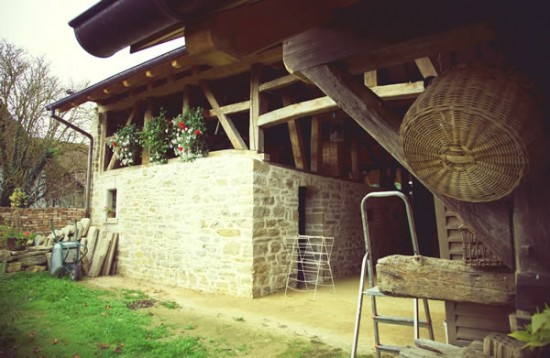 Rénovation d'une ancienne grange